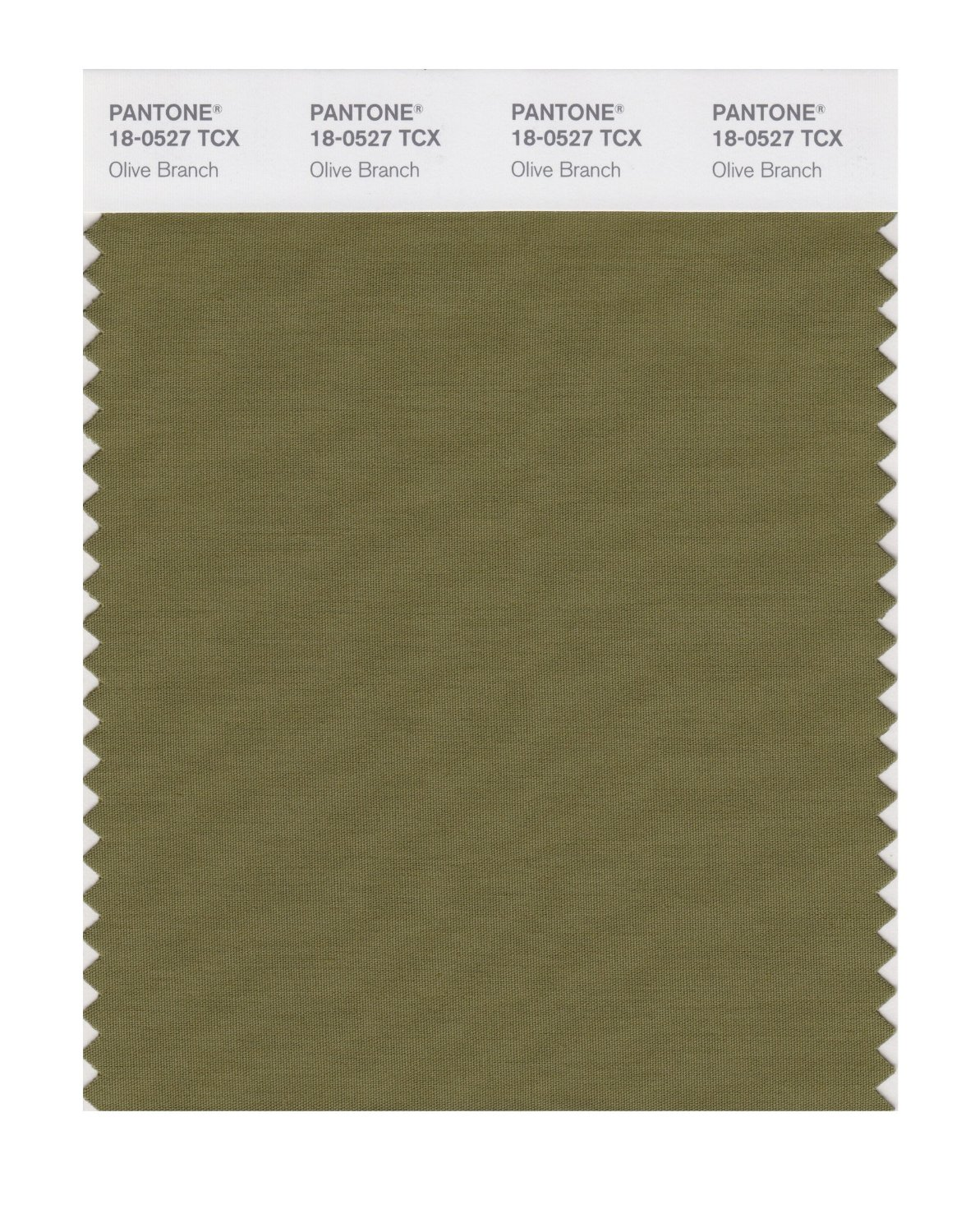 Pantone Smart Swatch 18-0527 Olive Branch