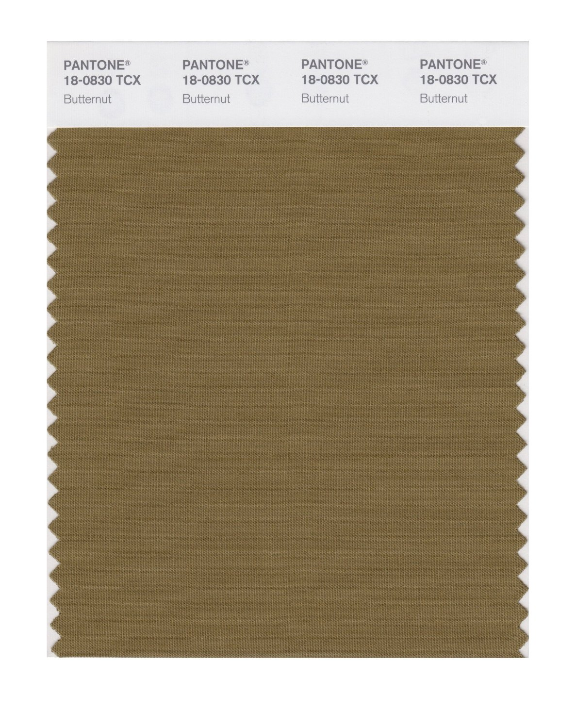 Pantone Smart Swatch 18-0830 Butternut