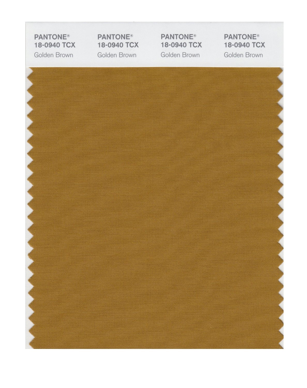 Pantone Smart Swatch 18-0940 Golden Brown