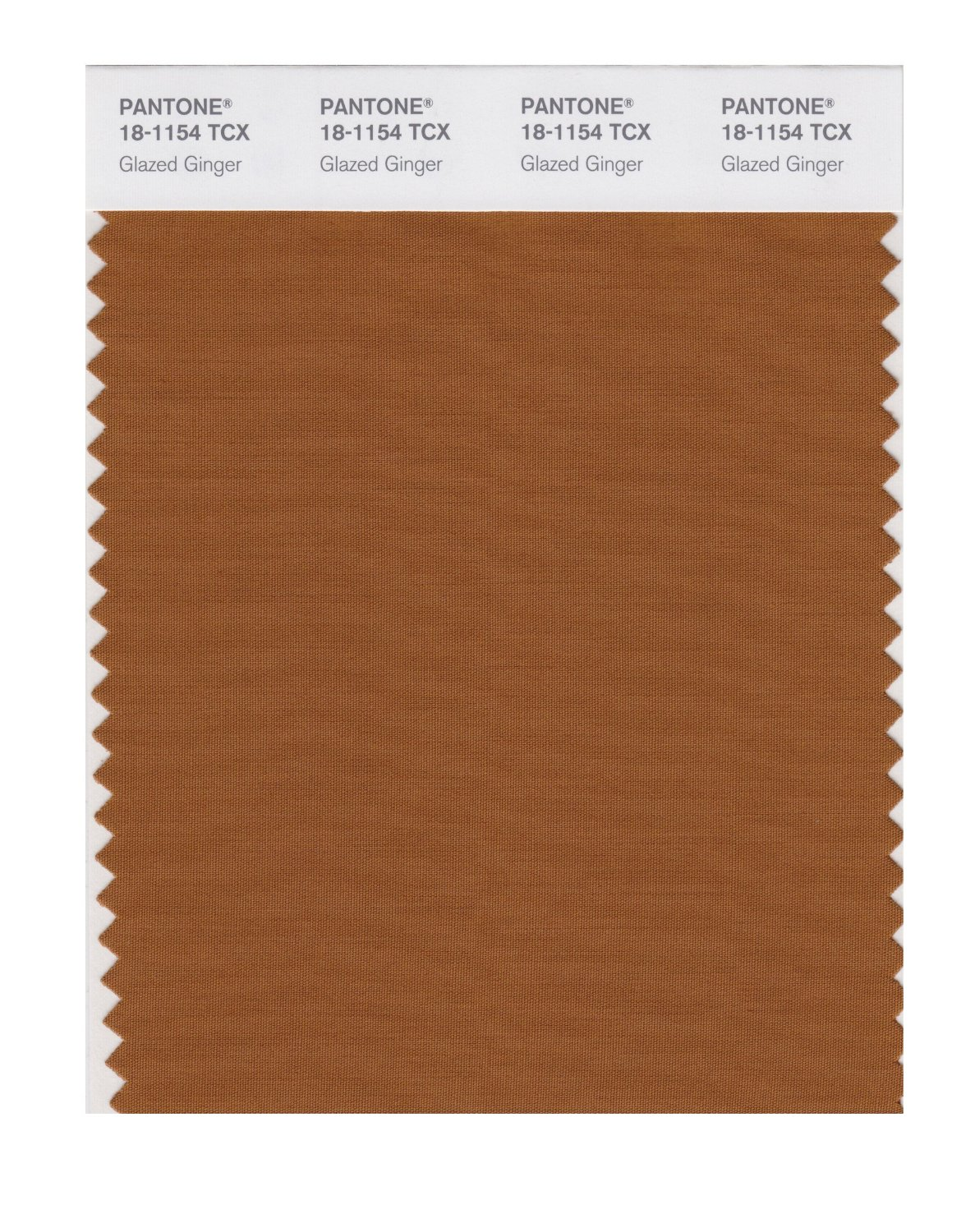Pantone Smart Swatch 18-1154 Glazed Ginger