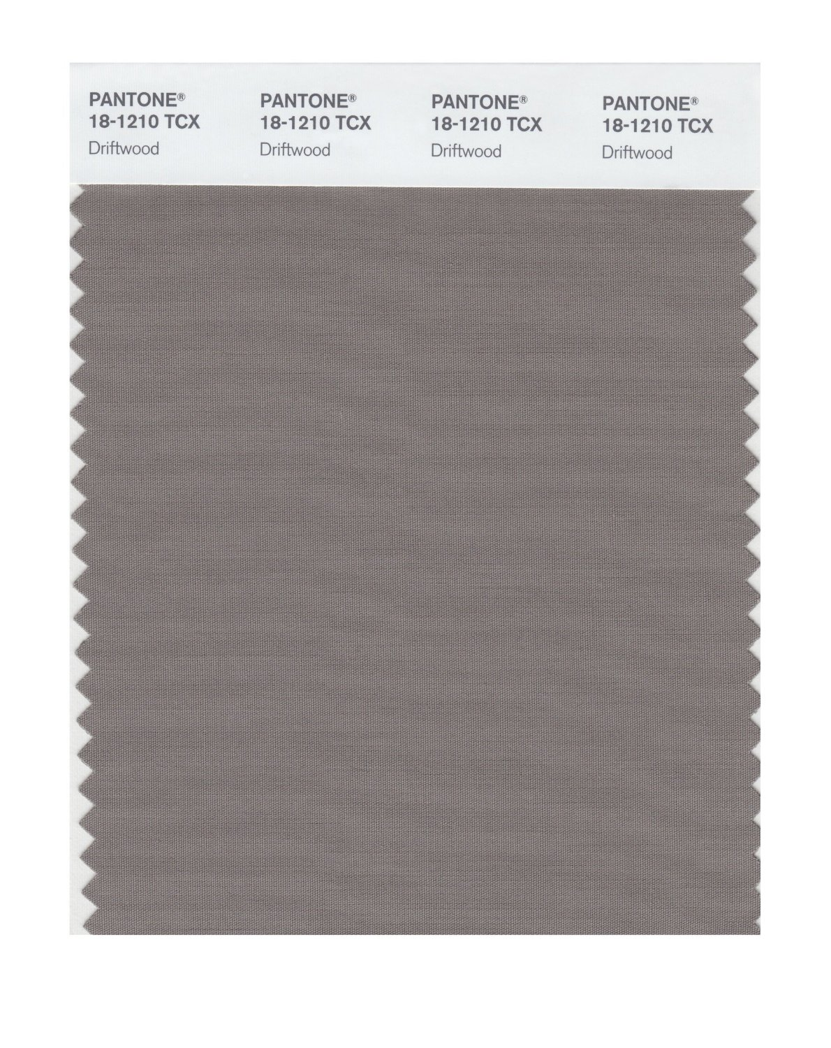 Pantone Smart Swatch 18-1210 Driftwood