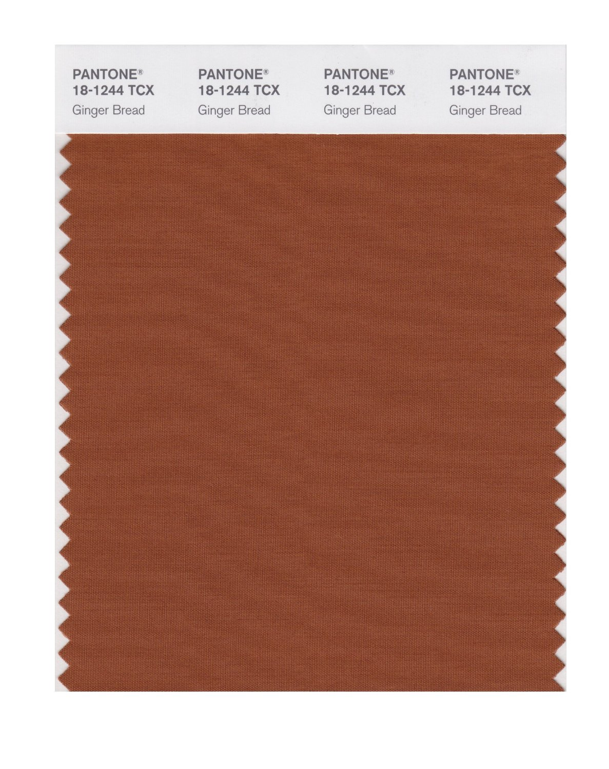 Pantone Smart Swatch 18-1244 Ginger Bread