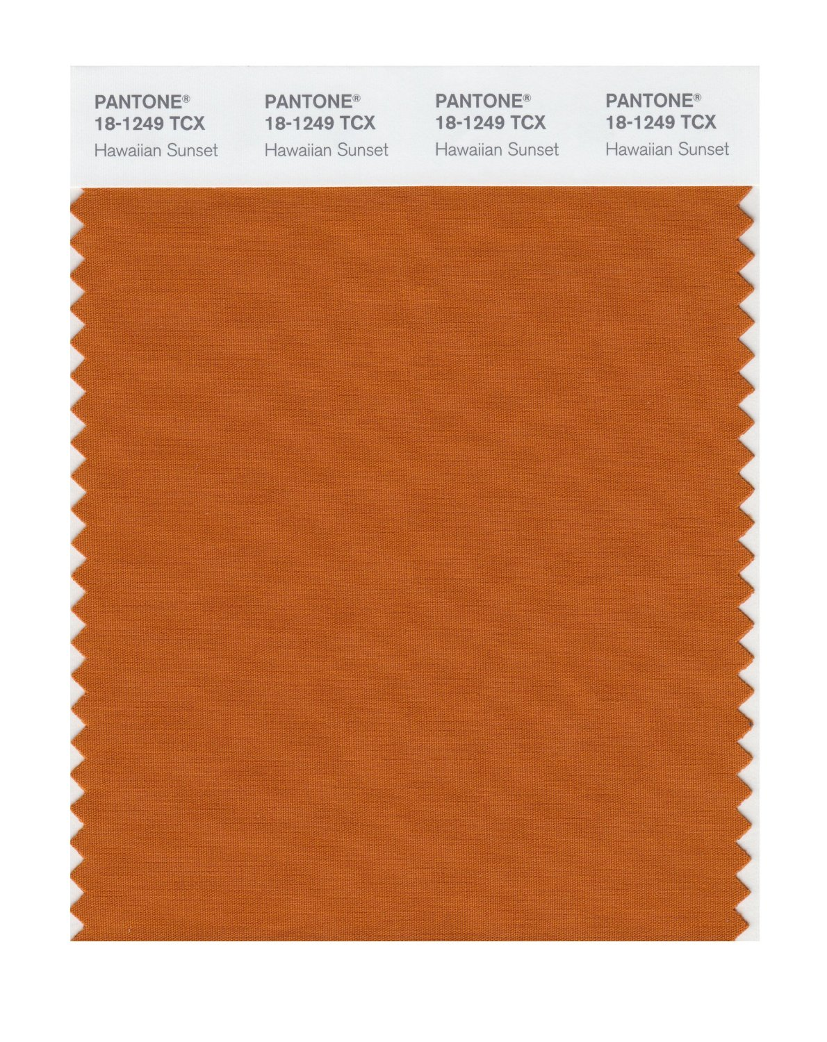 Pantone Smart Swatch 18-1249 Hawaiian Sunset