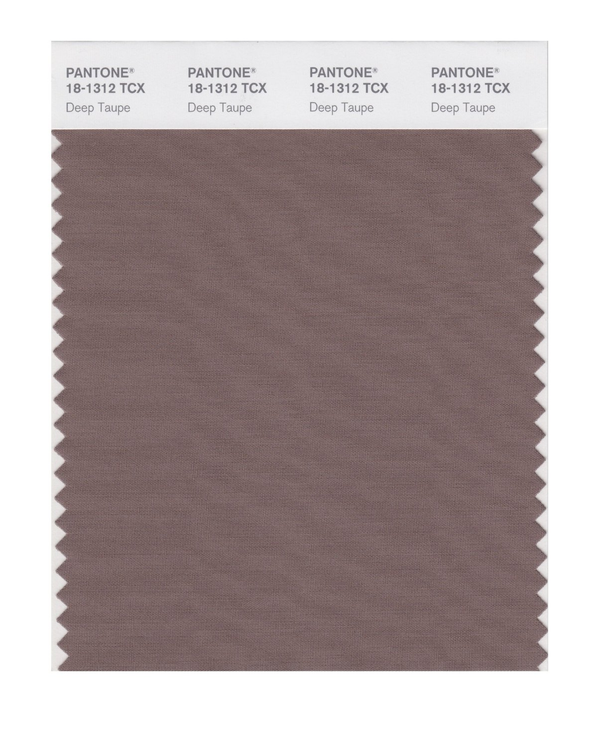 Pantone Smart Swatch 18-1312 Deep Taupe