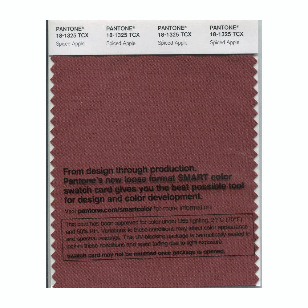 Pantone Smart Swatch 18-1325 Spiced Apple