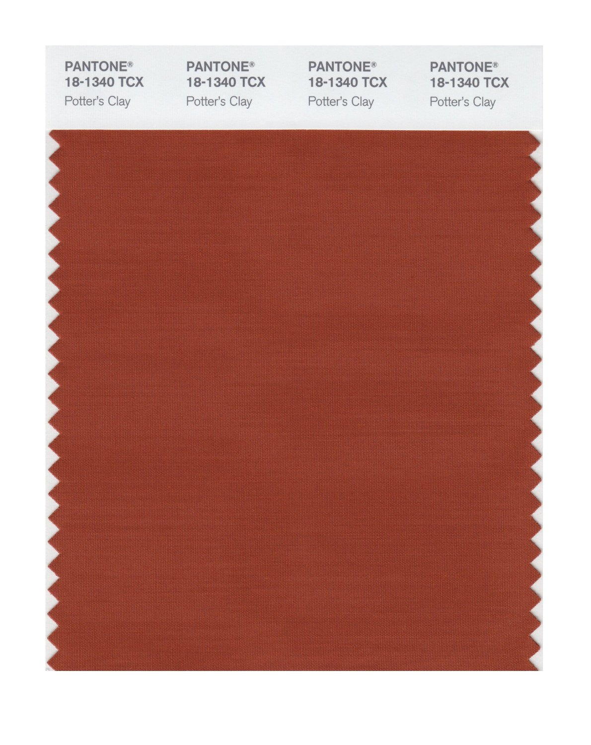 Pantone Smart Swatch 18-1340 Potter's Clay