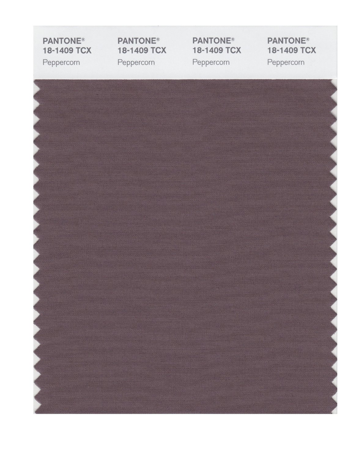 Pantone Smart Swatch 18-1409 Peppercorn