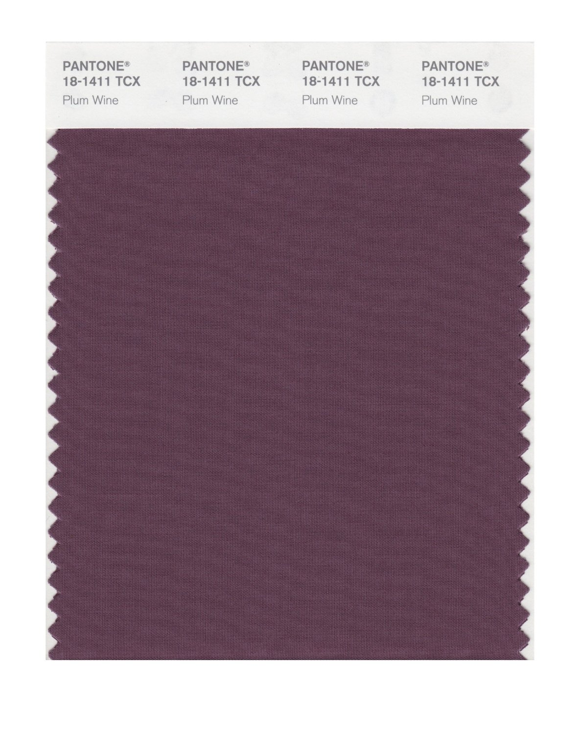 Pantone Smart Swatch 18-1411 Plum Wine