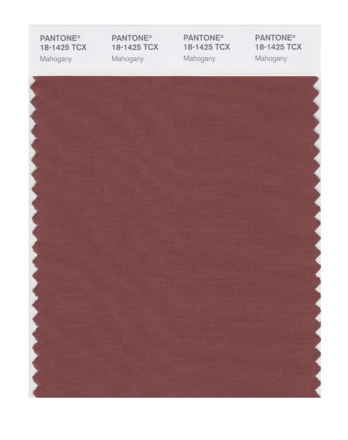 Pantone Smart Swatch 18-1425 Mahogany