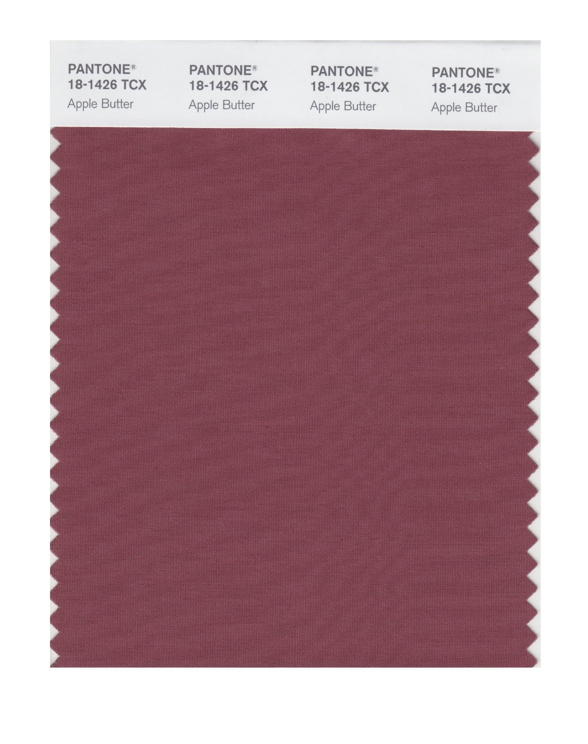 Pantone Smart Swatch 18-1426 Apple Butter