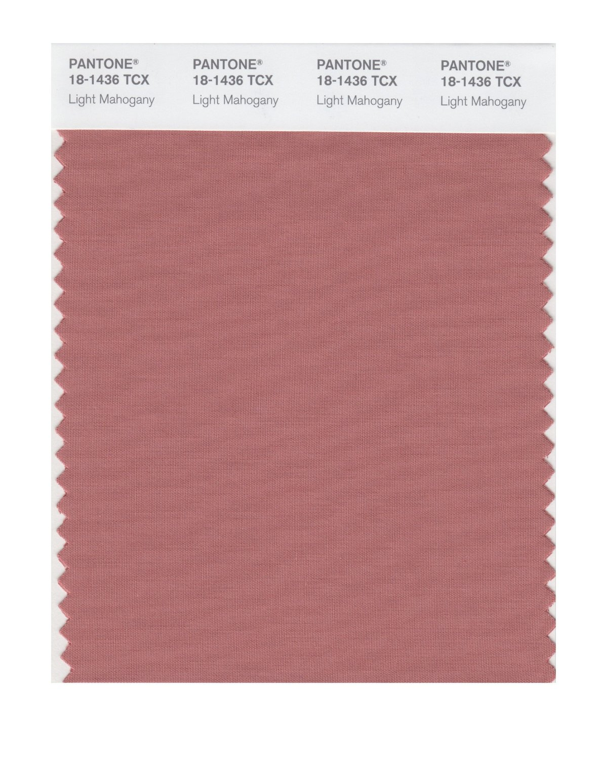 Pantone Smart Swatch 18-1436 Light Mahogany