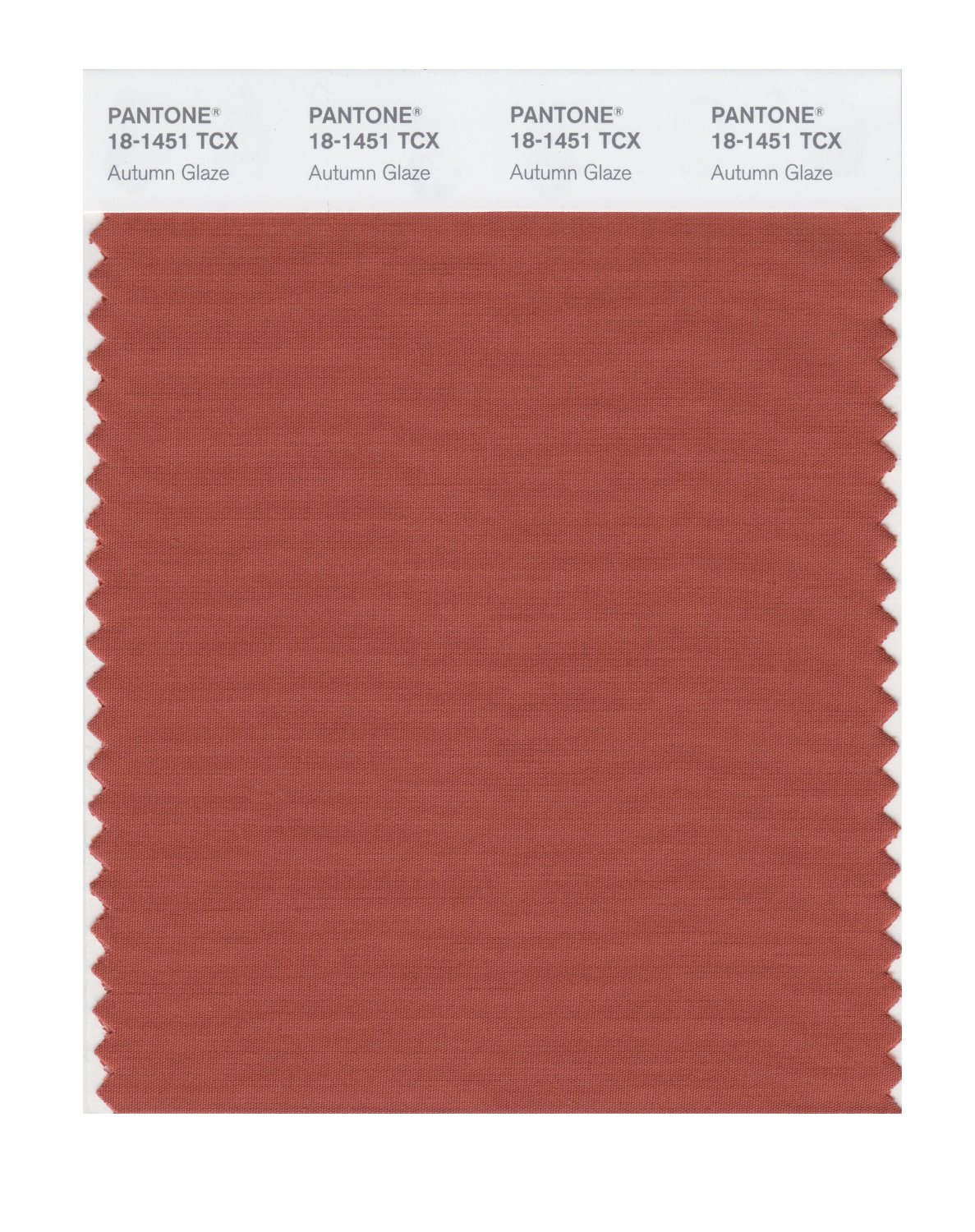 Pantone Smart Swatch 18-1451 Autumn Glaze