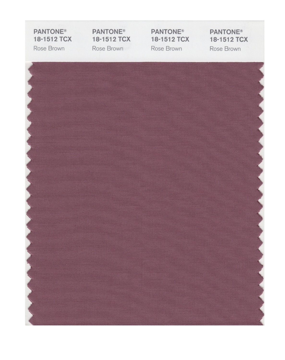 Pantone Smart Swatch 18-1512 Rose Brown