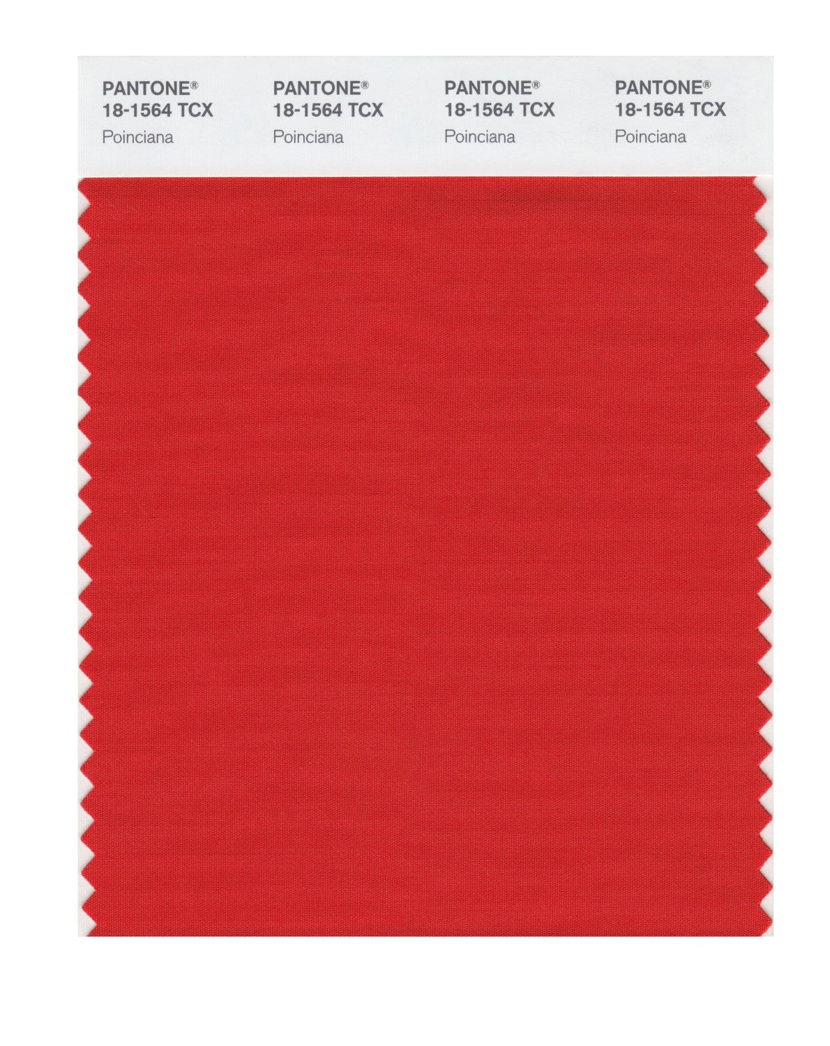 Pantone Smart Swatch 18-1564 Poinciana
