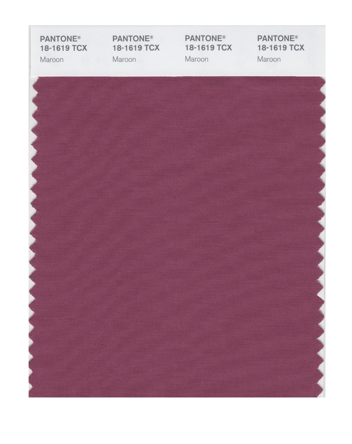 Pantone Smart Swatch 18-1619 Maroon