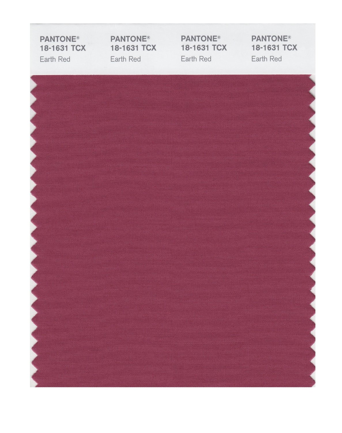 Pantone Smart Swatch 18-1631 Earth Red