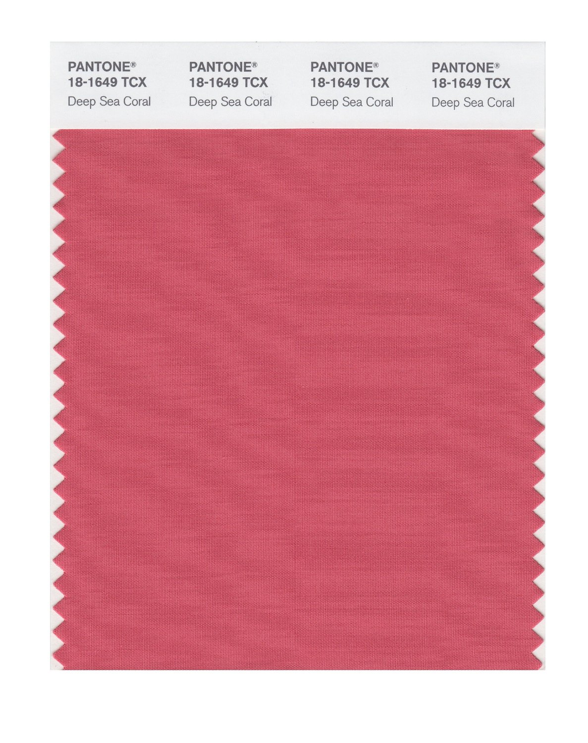 Pantone Smart Swatch 18-1649 Deep Sea Coral