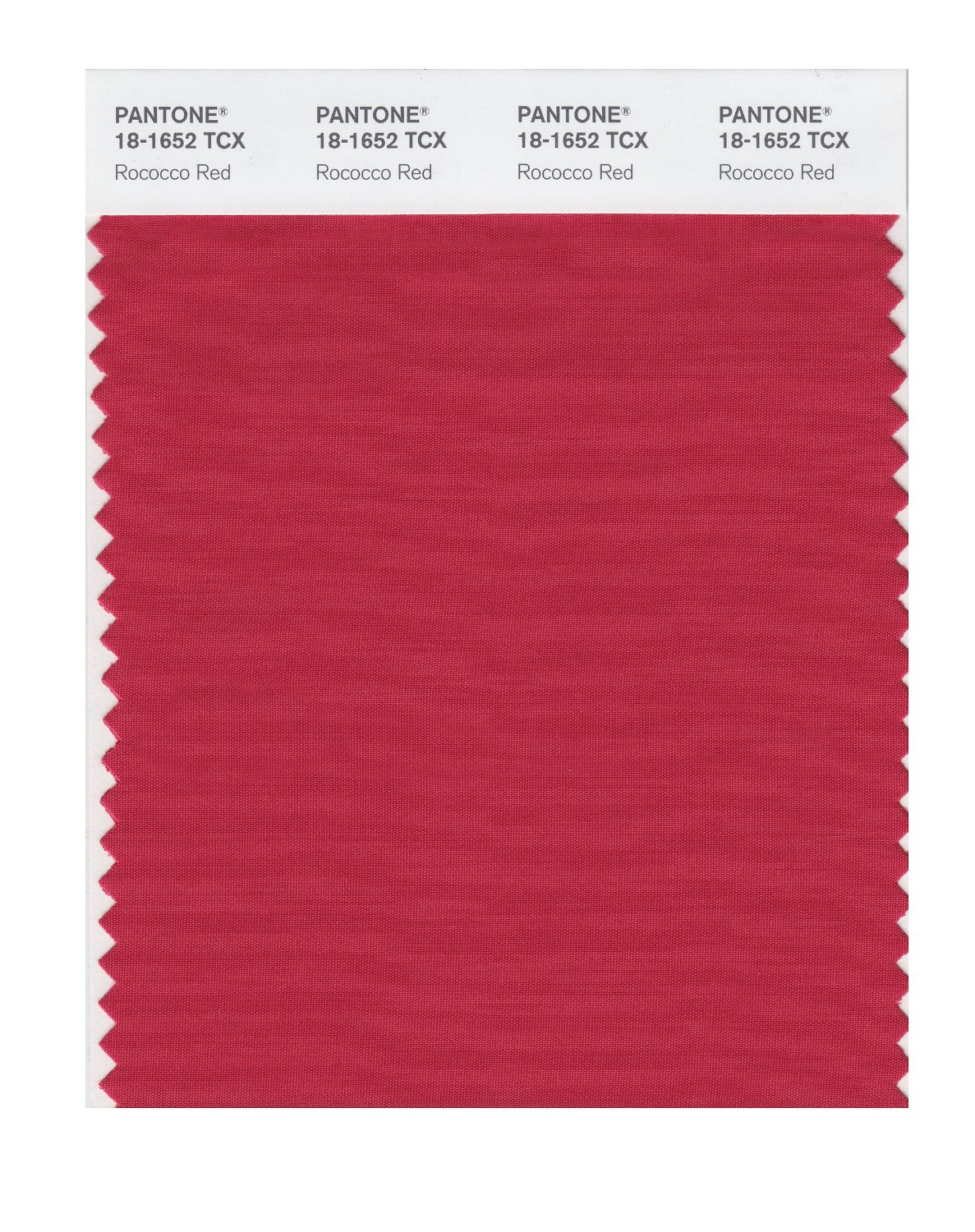 Pantone Smart Swatch 18-1652 Rococco Red
