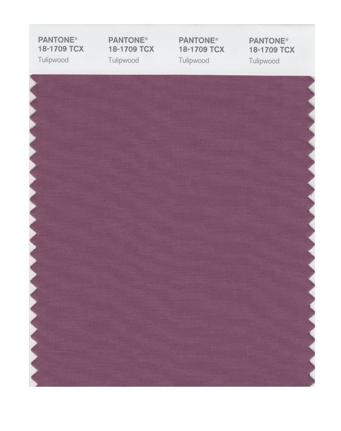 Pantone Smart Swatch 18-1709 Tulipwood