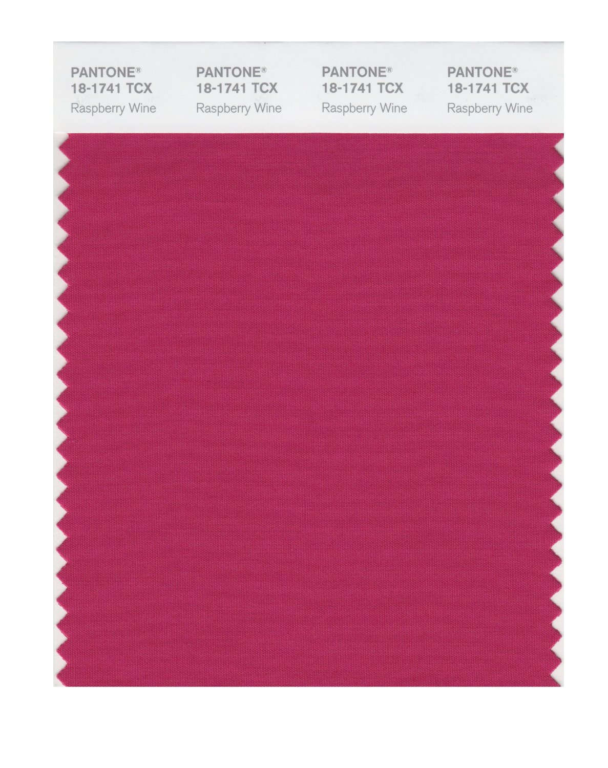 Pantone Smart Swatch 18-1741 Raspberry Wine
