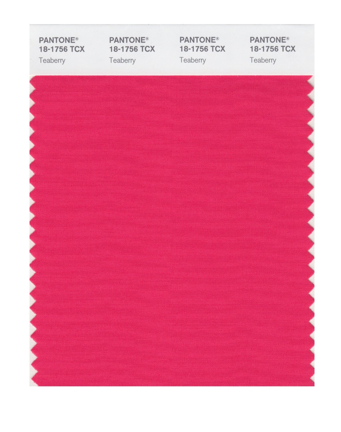 Pantone Smart Swatch 18-1756 Teaberry