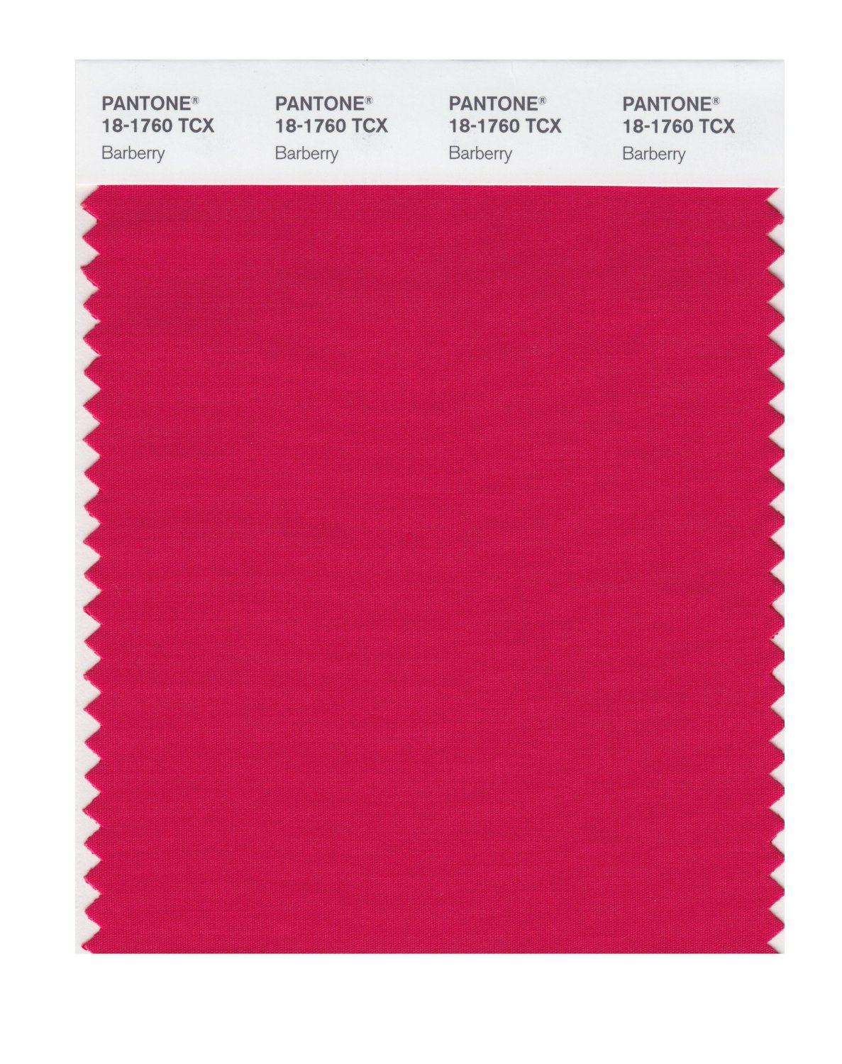 Pantone Smart Swatch 18-1760 Barberry