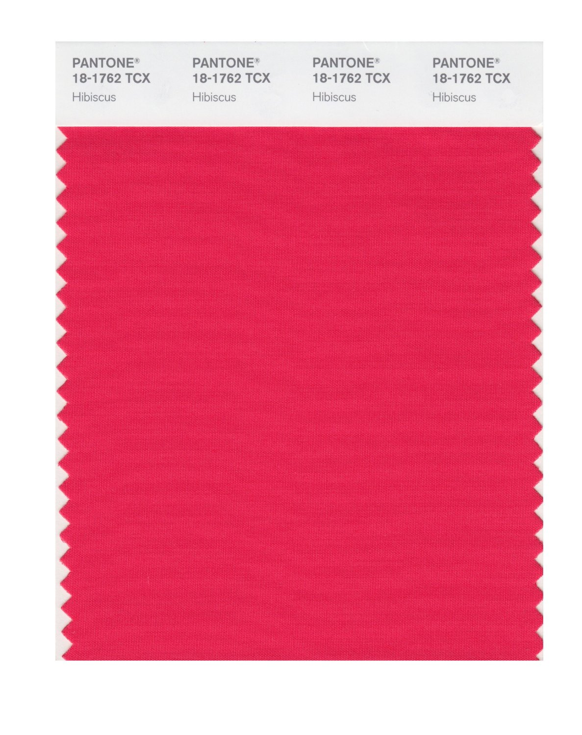 Pantone Smart Swatch 18-1762 Hibiscus