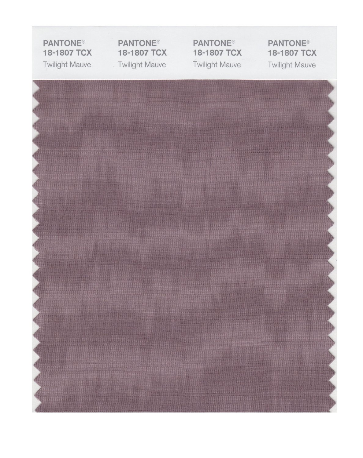 Pantone Smart Swatch 18-1807 Twilight Mauve
