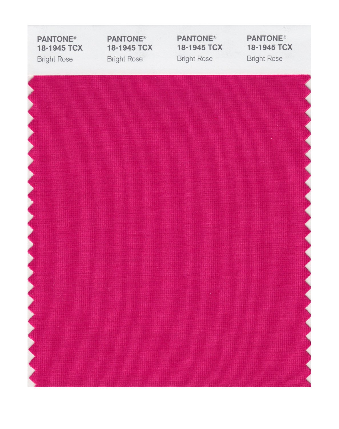 Pantone Smart Swatch 18-1945 Bright Rose
