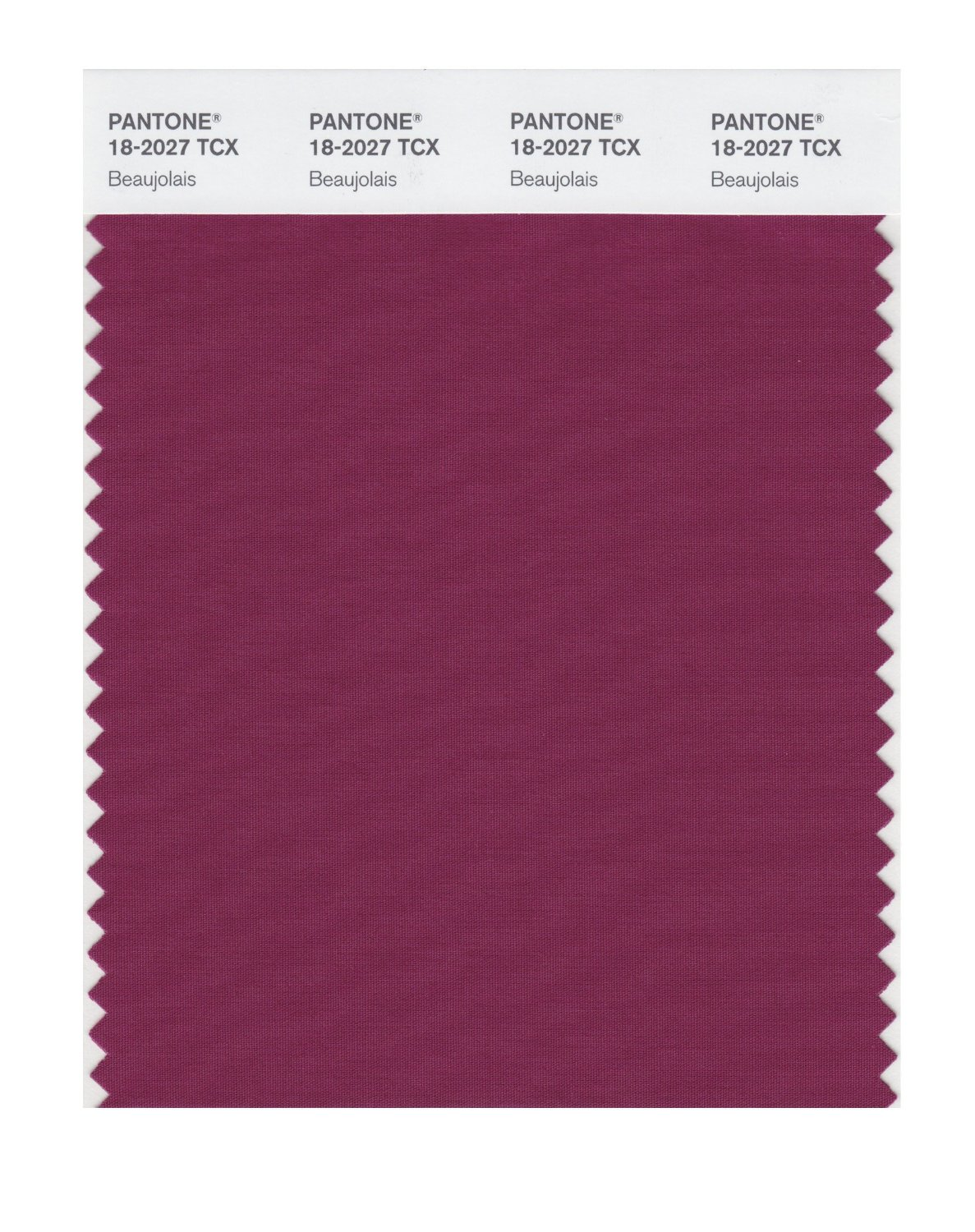 Pantone Smart Swatch 18-2027 Beaujolais