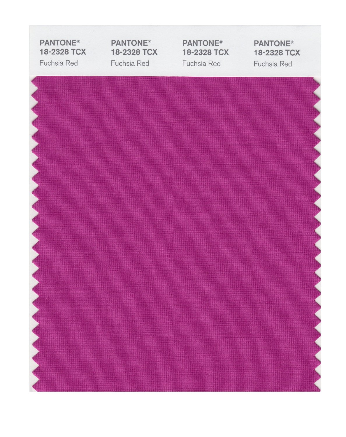 Pantone Smart Swatch 18-2328 Fuchsia Red