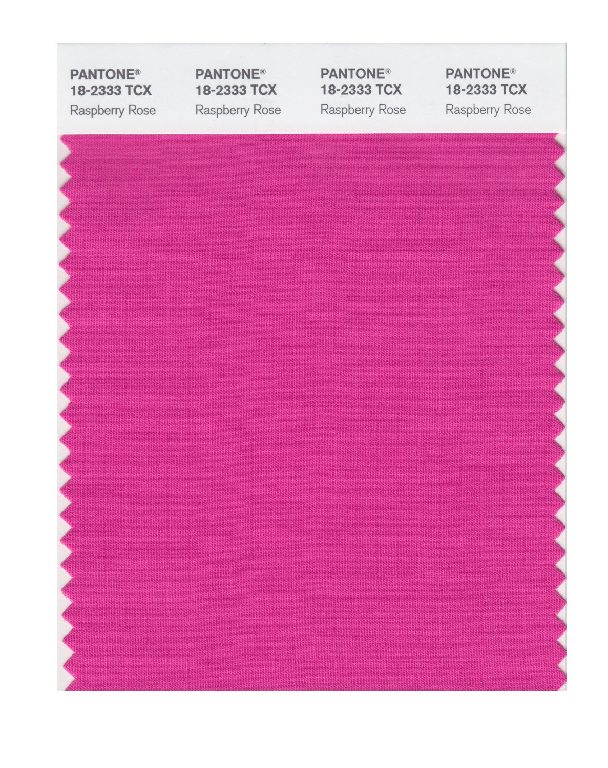Pantone Smart Swatch 18-2333 Raspberry Rose