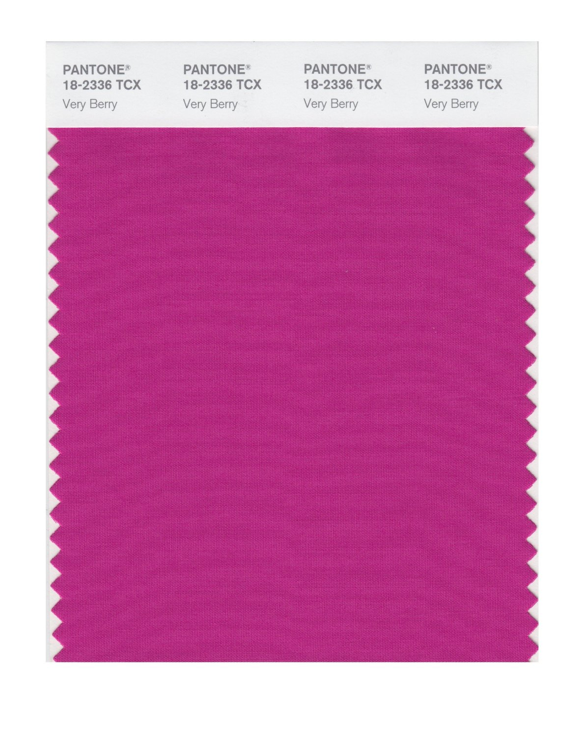 Pantone Smart Swatch 18-2336 Very Berry