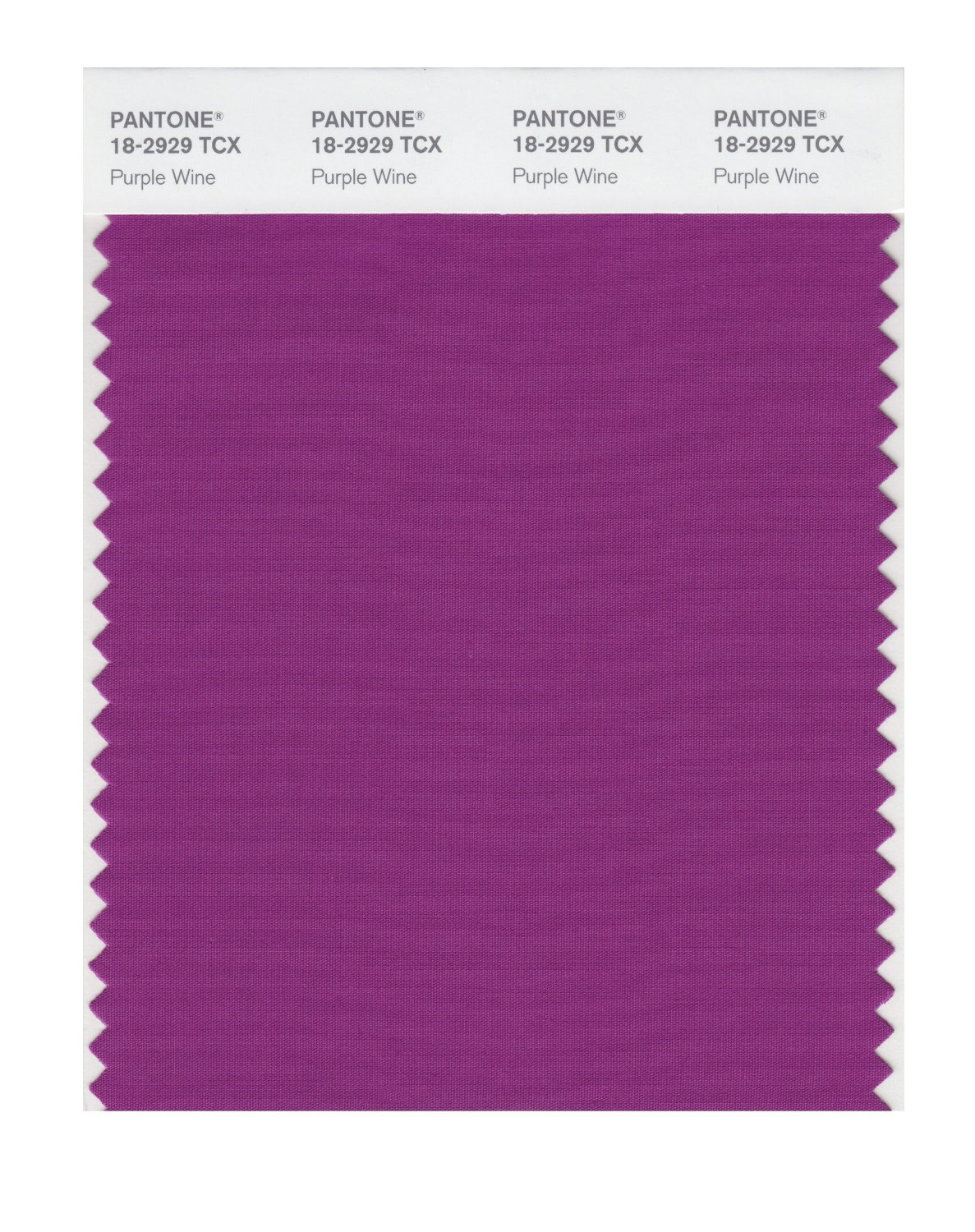 Pantone Smart Swatch 18-2929 Purple Wine