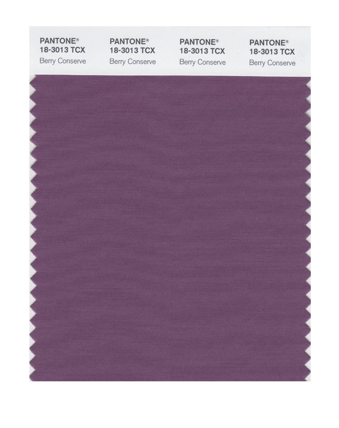 Pantone Smart Swatch 18-3013 Berry Conserve