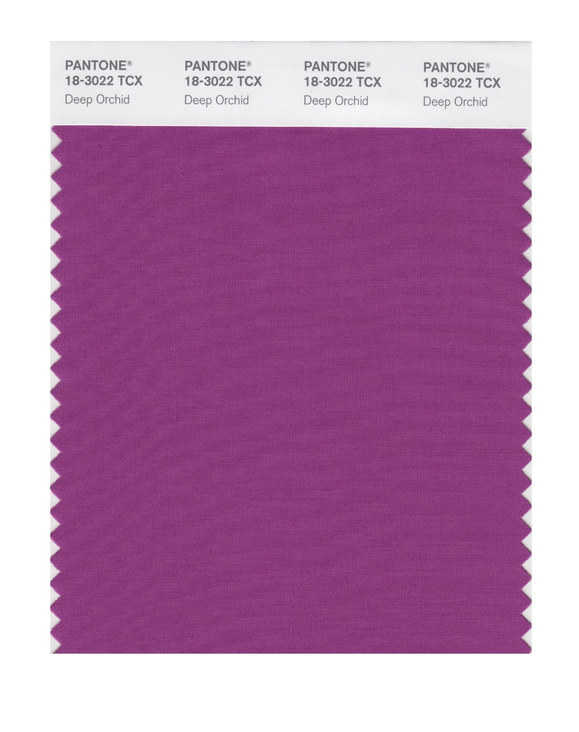 Pantone Smart Swatch 18-3022 Deep Orchid