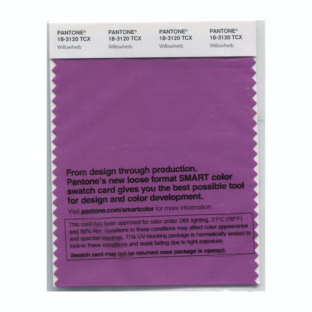 Pantone Smart Swatch 18-3120 Willowherb