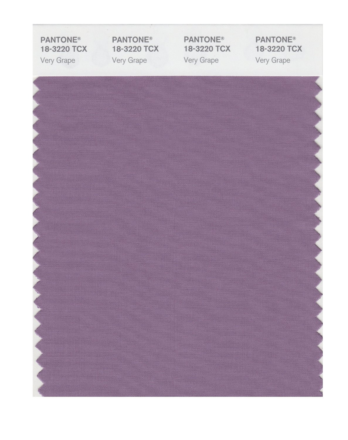 Pantone Smart Swatch 18-3220 Very Grape