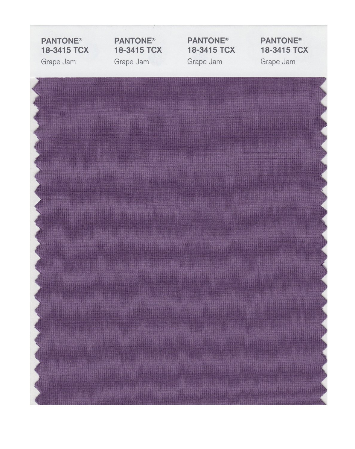 Pantone Smart Swatch 18-3415 Grape Jam