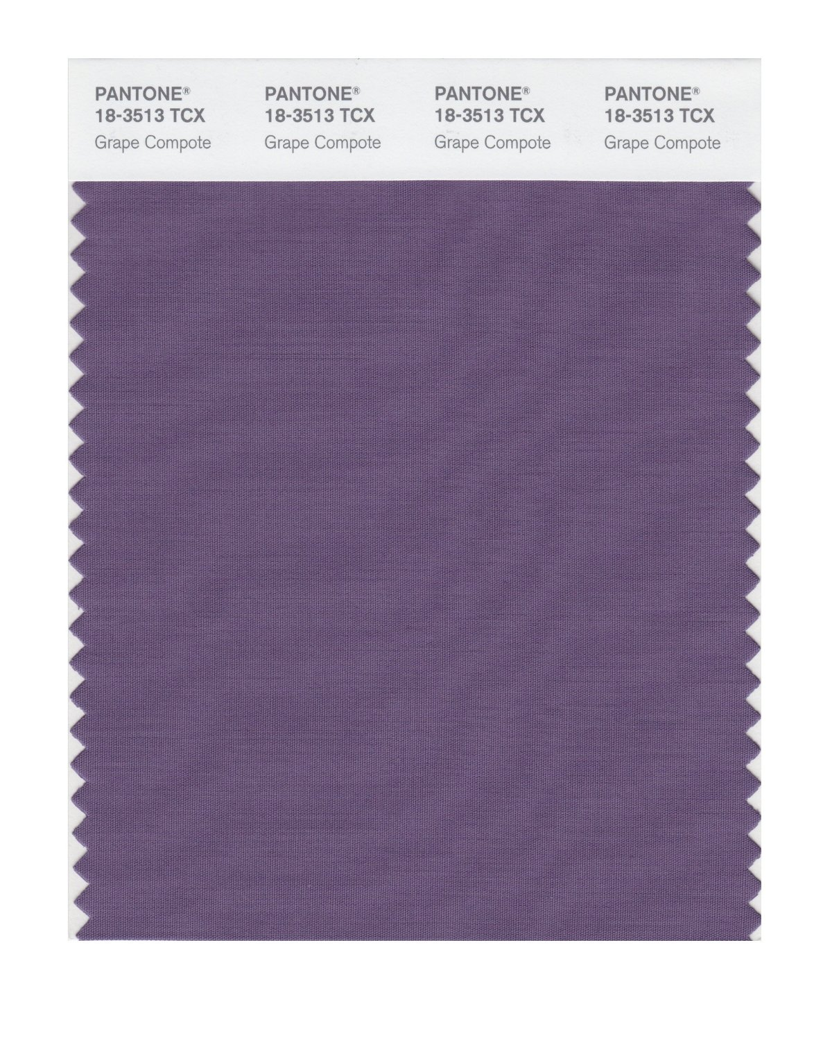 Pantone Smart Swatch 18-3513 Grape Compote