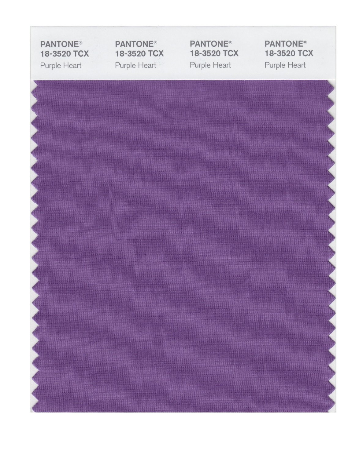 Pantone Smart Swatch 18-3520 Purple Heart