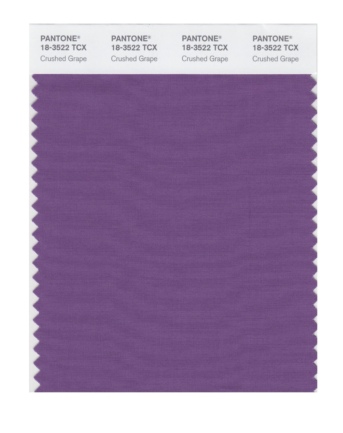 Pantone Smart Swatch 18-3522 Crushed Grape