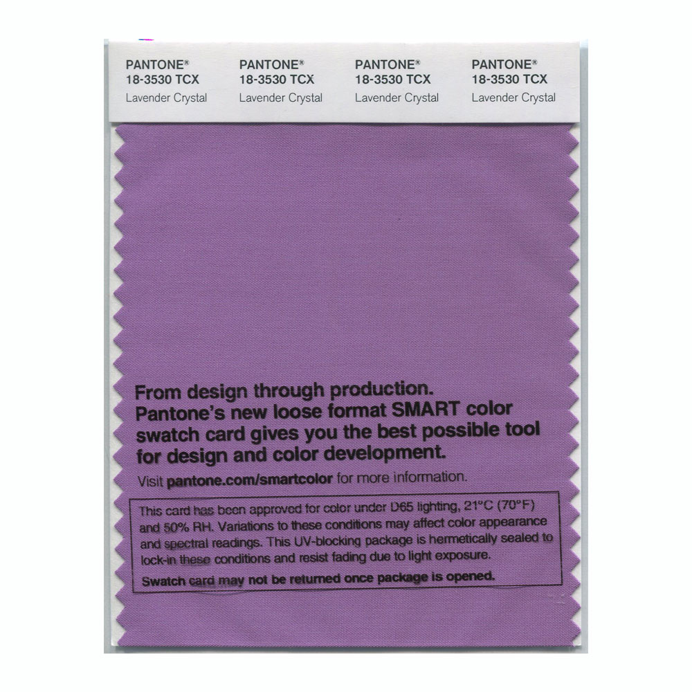 Pantone Smart Swatch 18-3530 Lavender Crystal