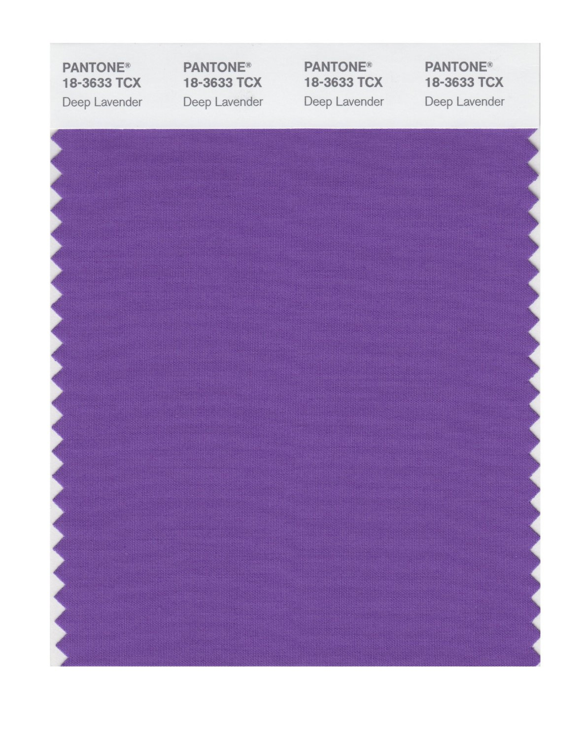 Pantone Smart Swatch 18-3633 Deep Lavender