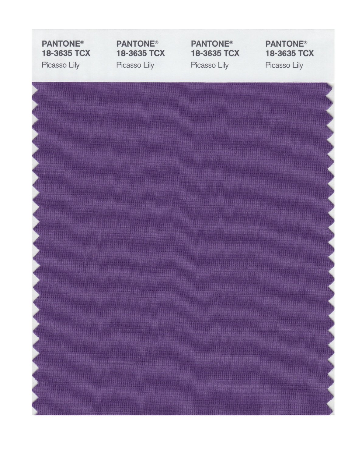 Pantone Smart Swatch 18-3635 Picasso Lily