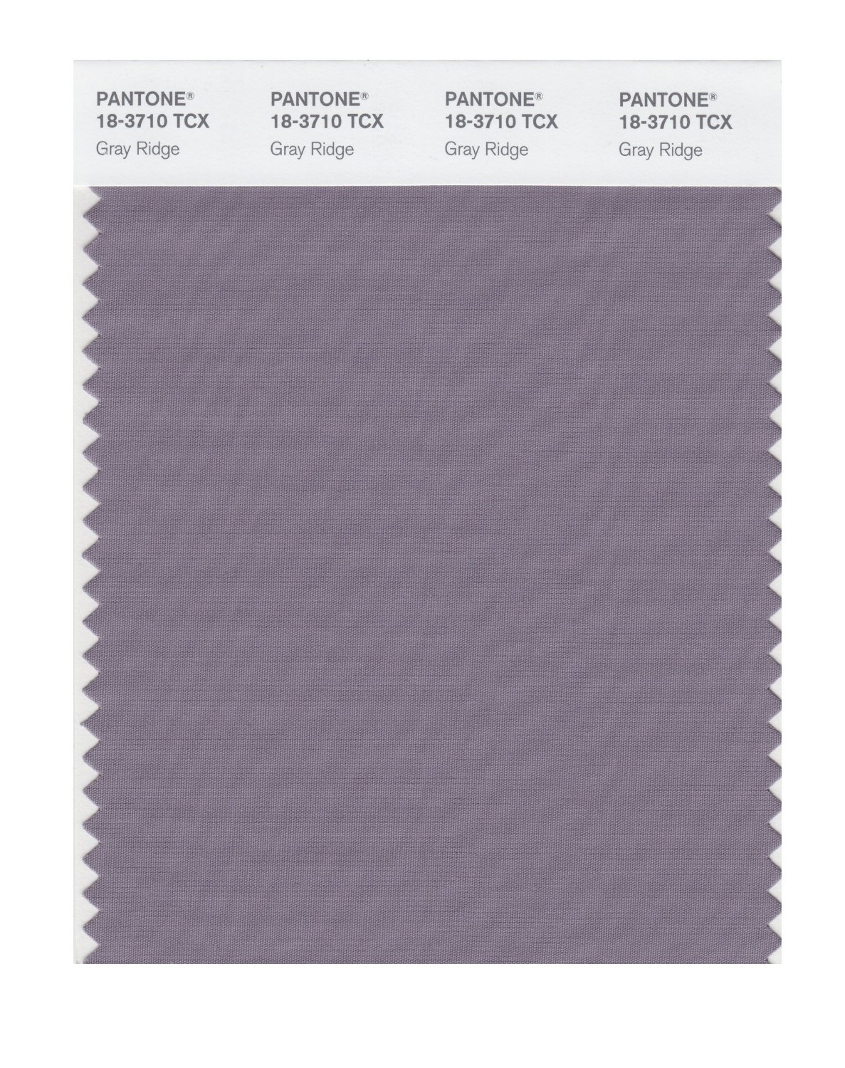 Pantone Smart Swatch 18-3710 Gray Ridge