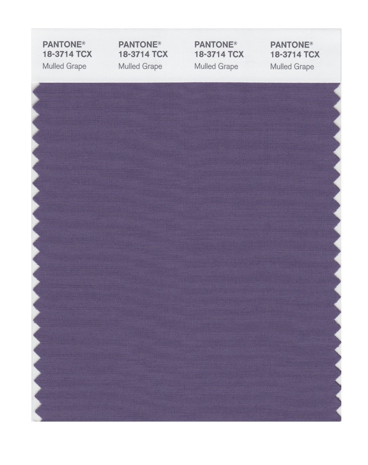 Pantone Smart Swatch 18-3714 Mulled Grape