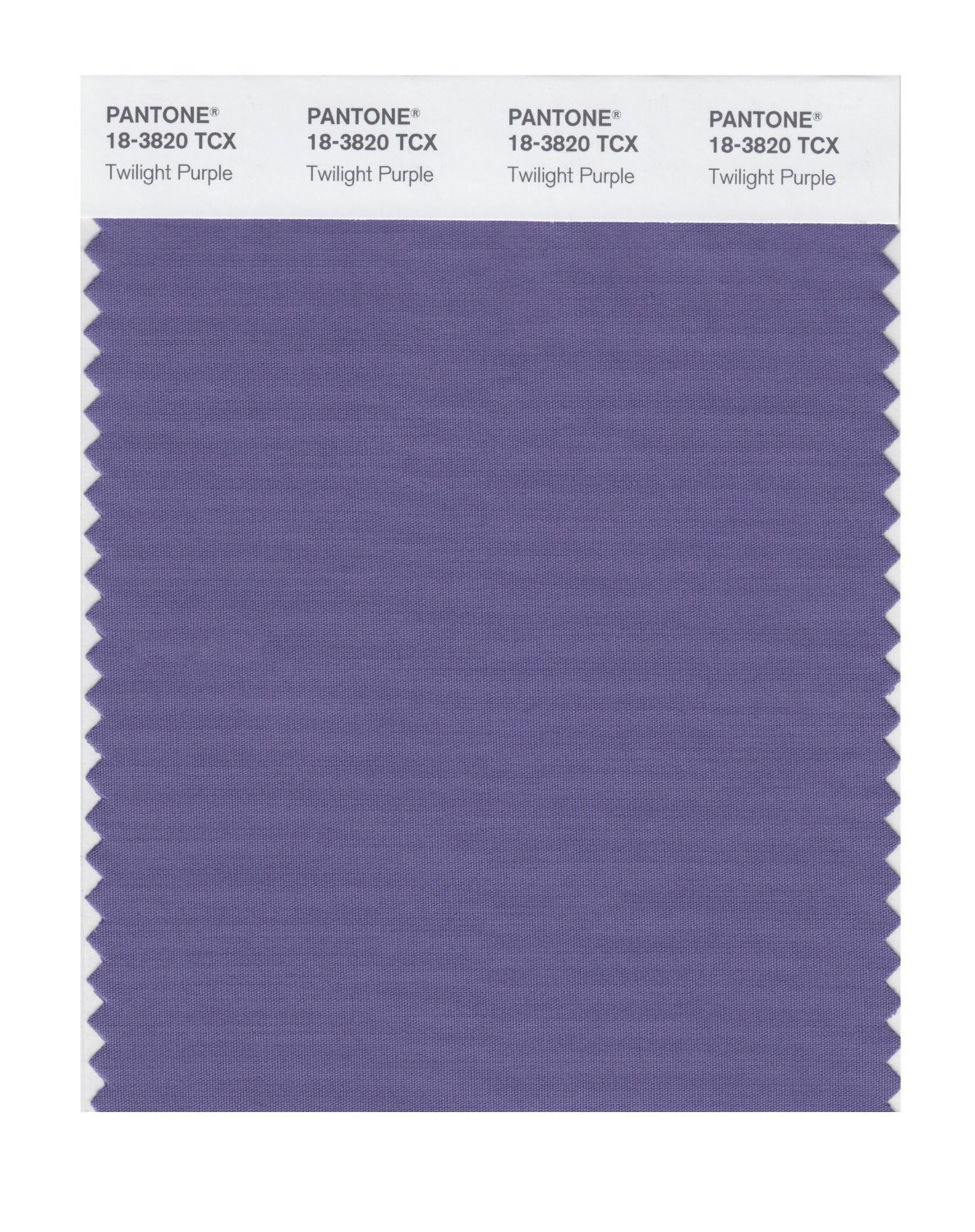 Pantone Smart Swatch 18-3820 Twilight Purple