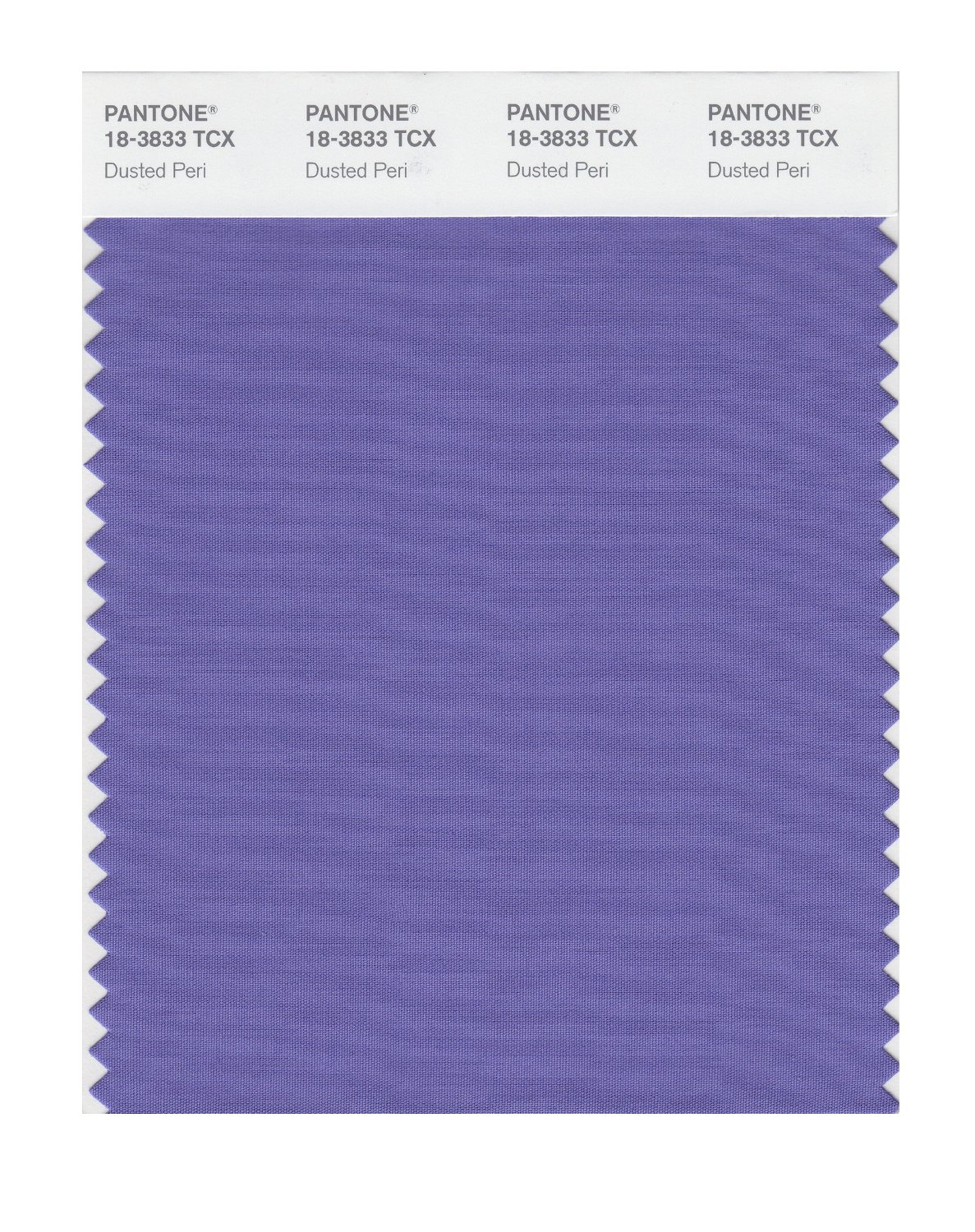 Pantone Smart Swatch 18-3833 Dusted Peri