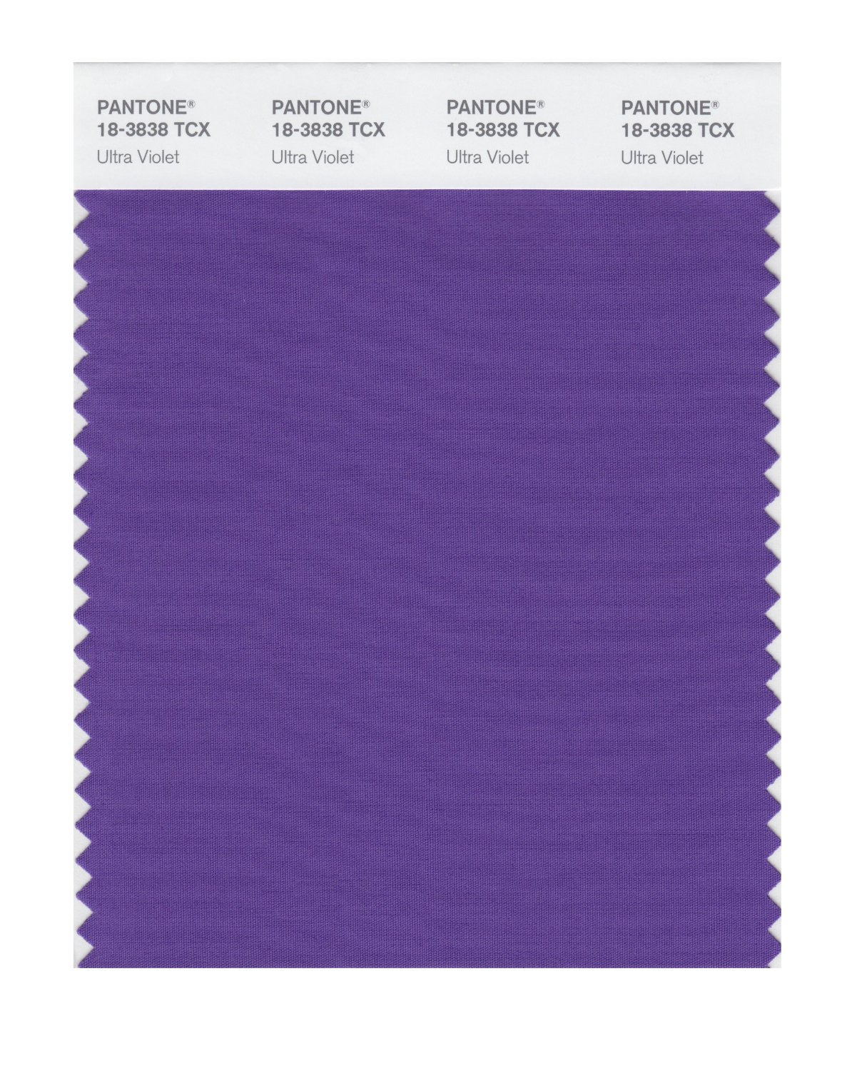 Pantone Smart Swatch 18-3838 Ultra Violet